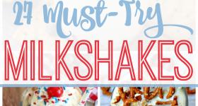 27 Best Milkshake Recipes