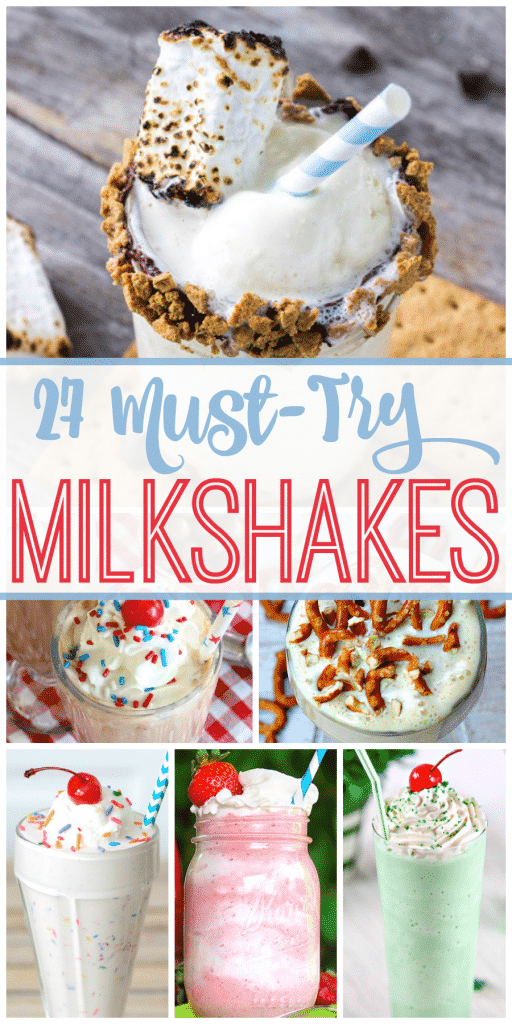 27 Best Milkshake Recipes