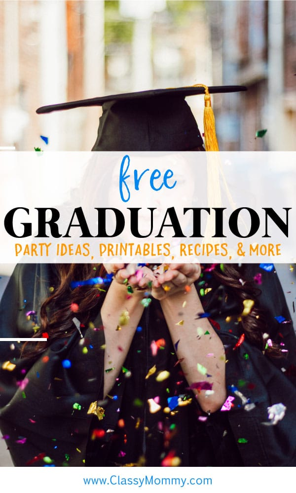25 Best Graduation Printables Recipes Crafts and Gift Ideas