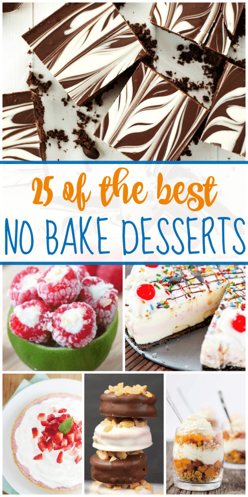 25 of the Best Easy No Bake Dessert Recipes