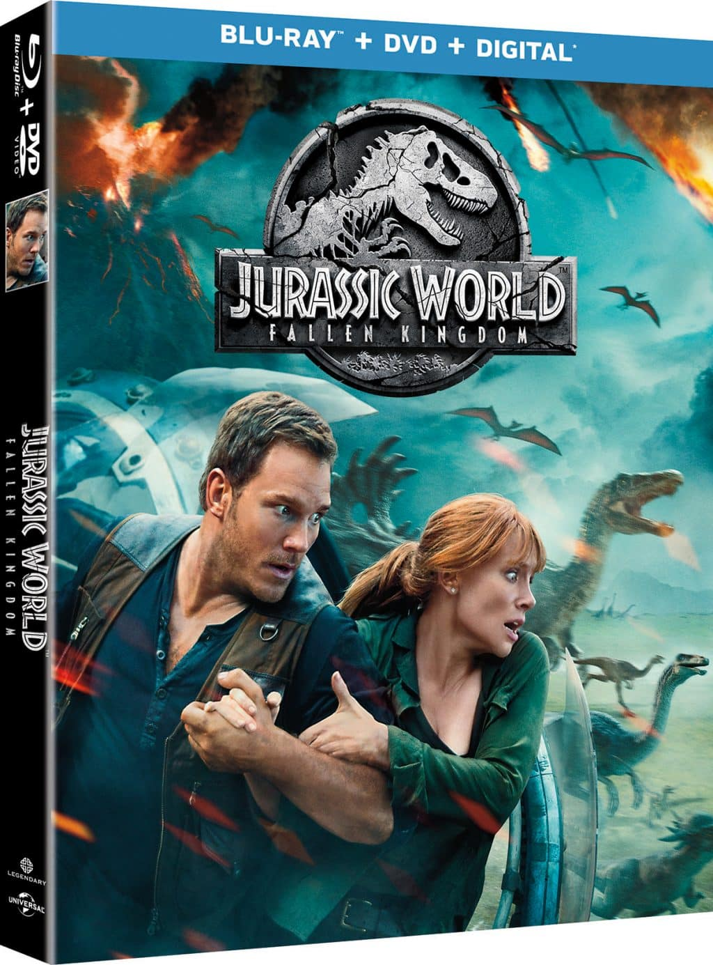Jurassic World: FallenKingdom Arrives on Digital September 4th and Blu-ray September 18th