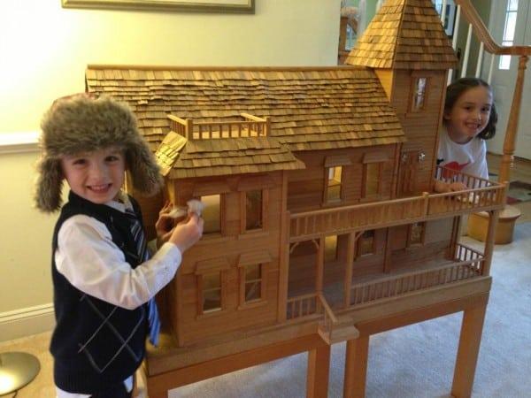 Dollhouse my Dad Built Me