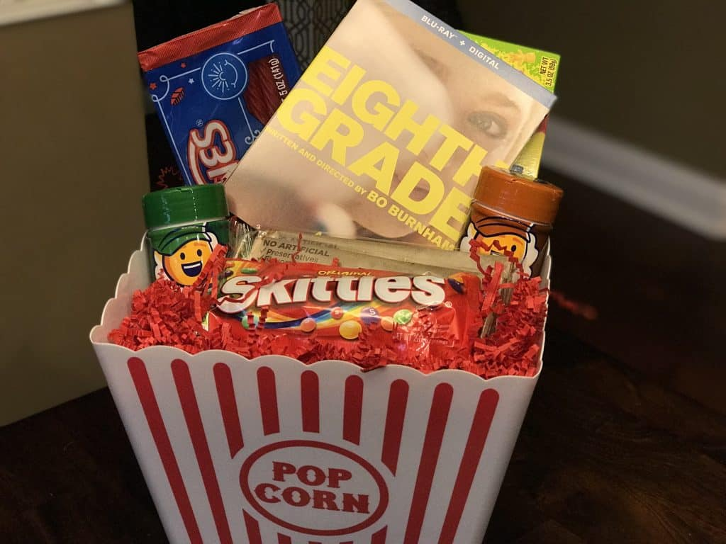 Eighth Grade Movie Night Giveaway