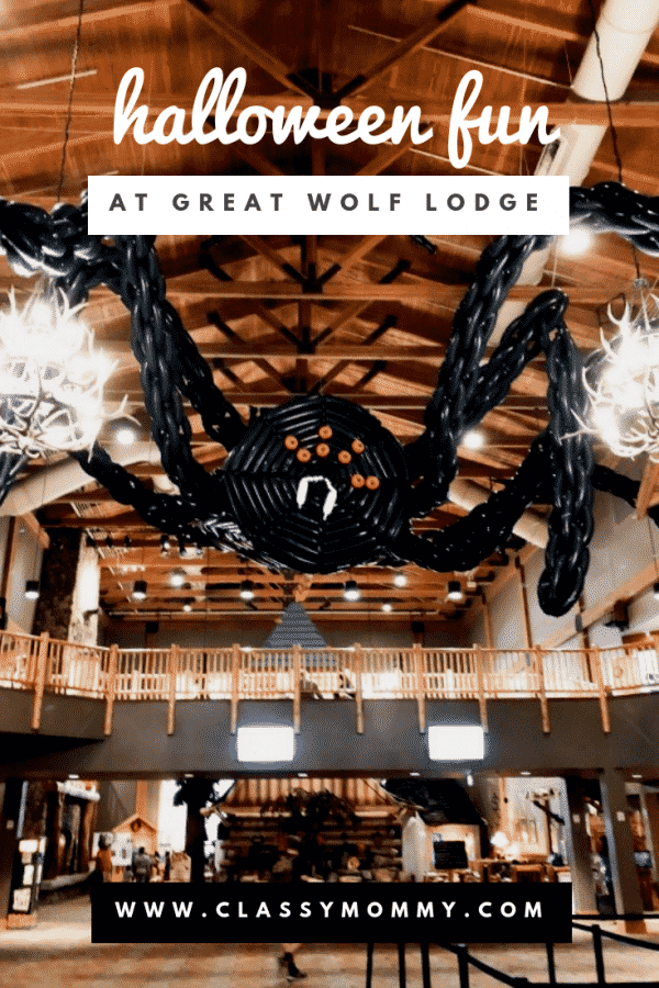 Halloween at the Great Wolf Lodge