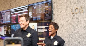 Behind the Scenes Photos on Set of The Rookie