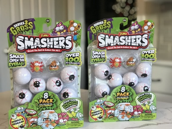 Smashers Series 2 Gross Unboxing Video Review
