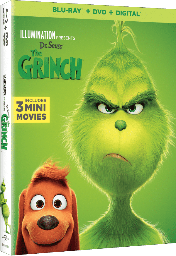 The Grinch DVD Giveaway