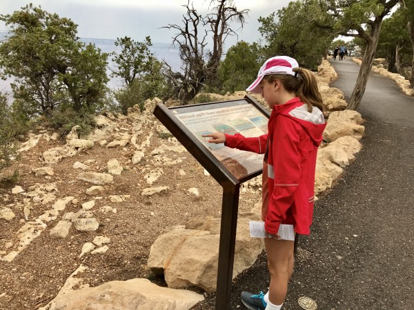 South Rim Trail of Time