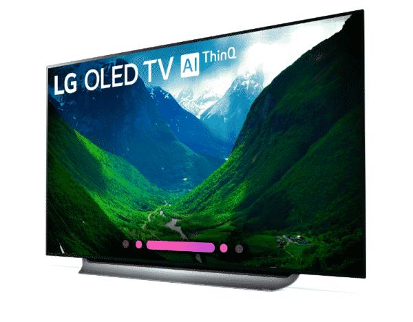 77'' class LG OLED TV