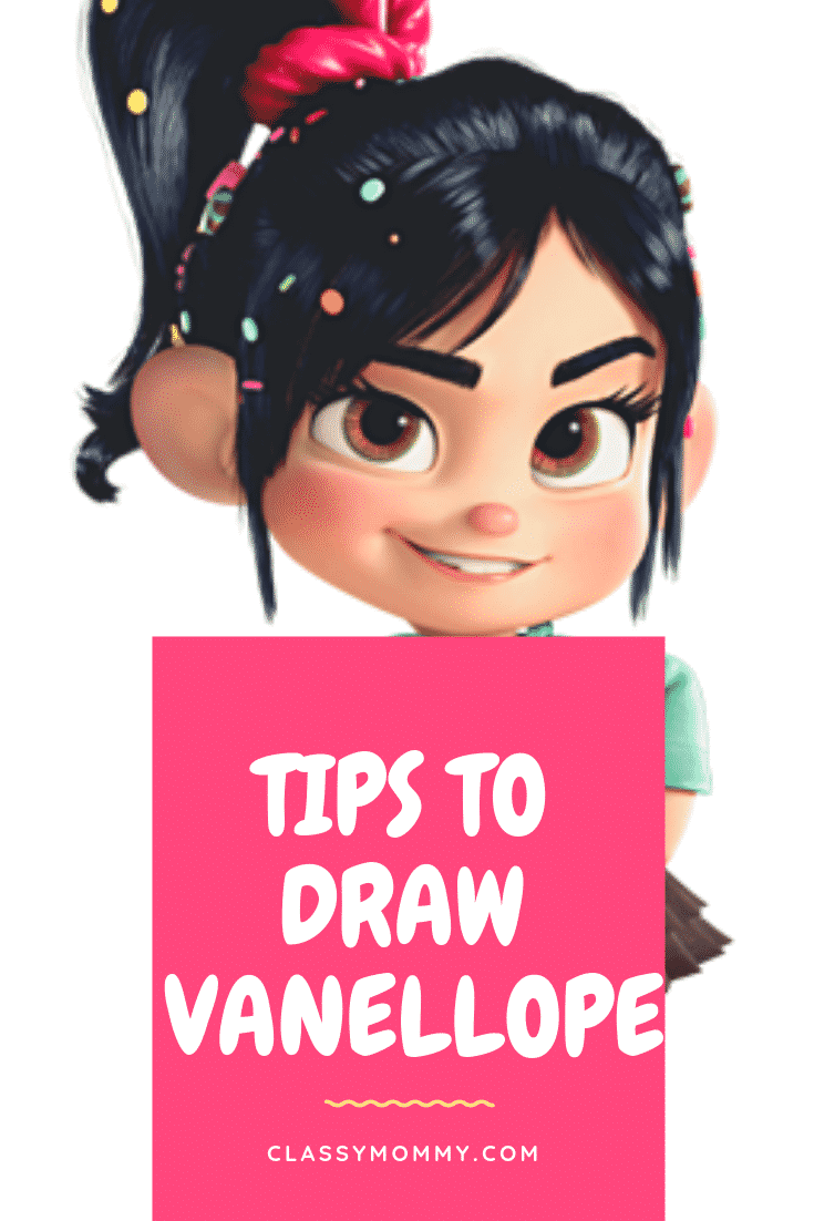 tips on how to draw vanellope from disney animator mark
