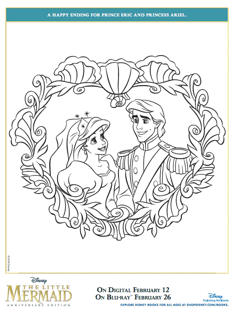 - Free Printable Little Mermaid Coloring Pages #LittleMermaidBluray - Classy  Mommy