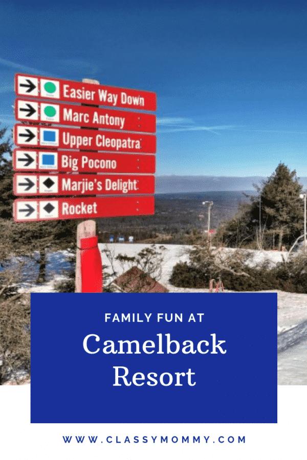 Family Itinerary at Camelback Resort