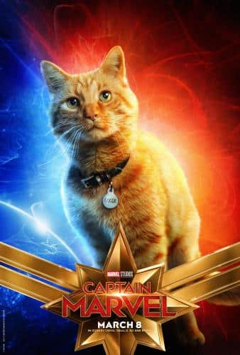Goose Captain Marvel poster