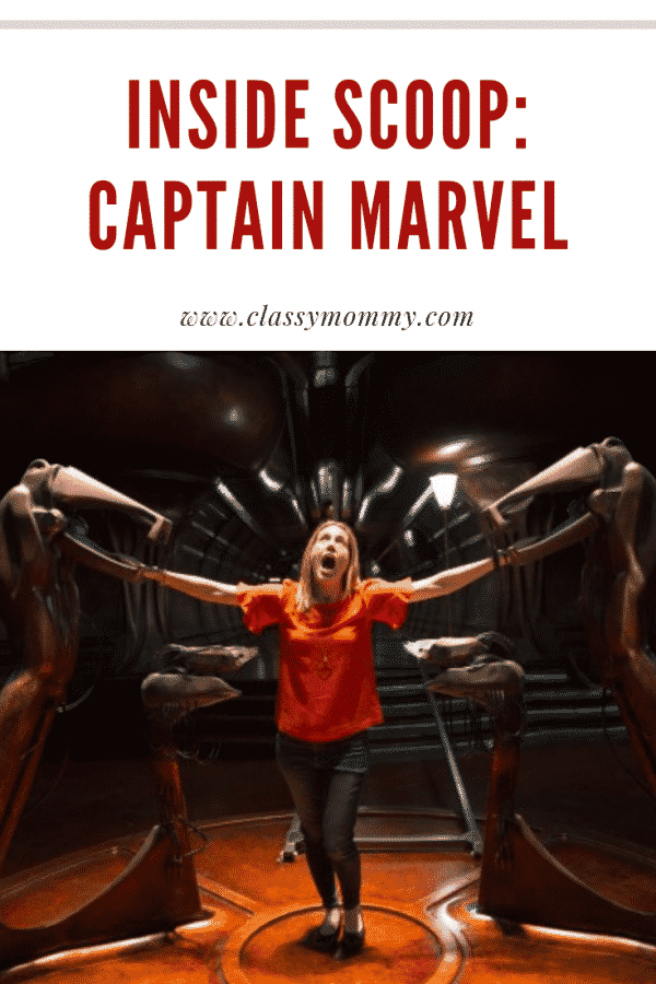 Captain Marvel Set Visit Photos with The Mind Fracker