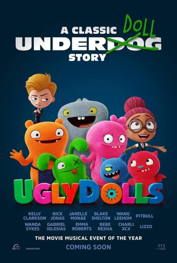UglyDolls Poster