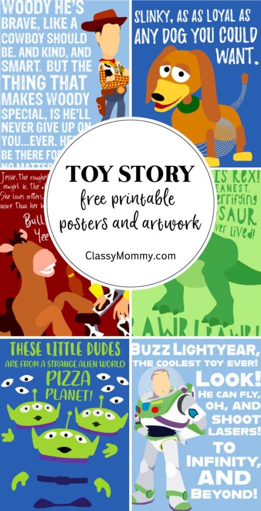 Free Toy Story Printable Posters and Artwork