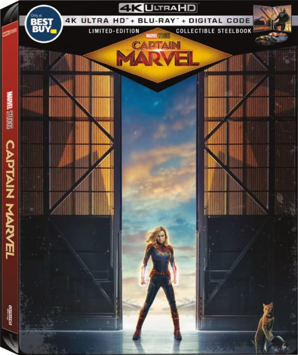 Captain Marvel BluRay