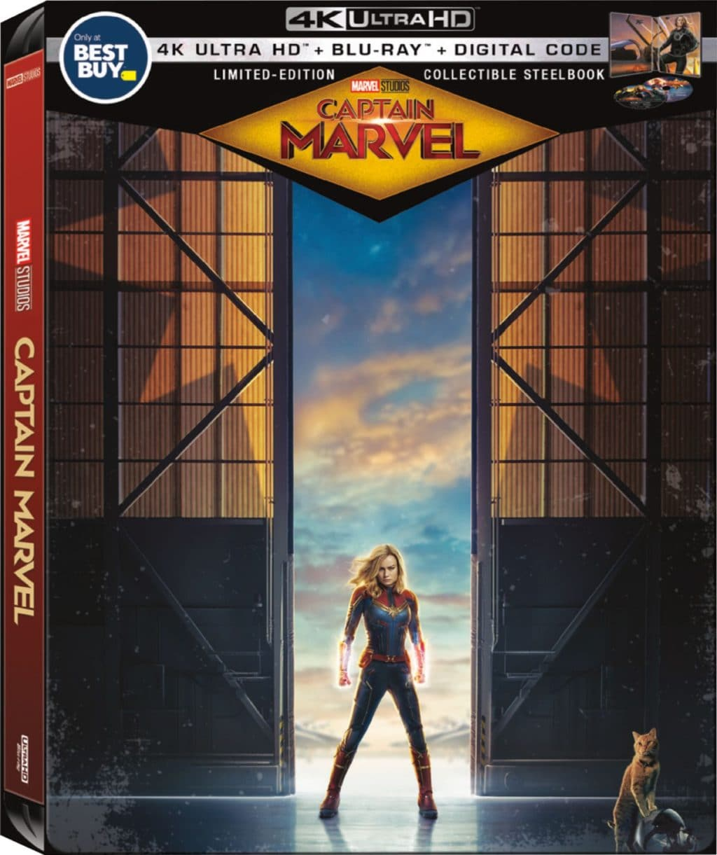 CAPTAIN MARVEL EXCLUSIVE STEEL BOOK