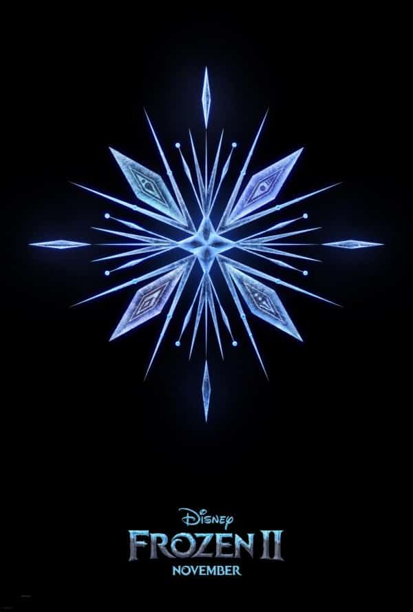 FROZEN 2 SNOWFLAKE MOVIE POSTER