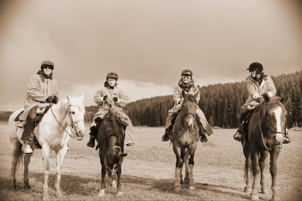 Diamond P Ranch Horseback Riding in Yellowstone Country