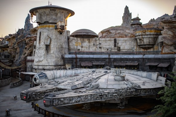 Galaxy's Edge Crowds