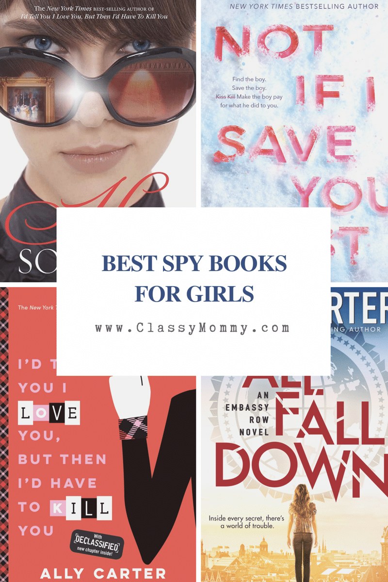 Best Spy and Thriller Books for Girls