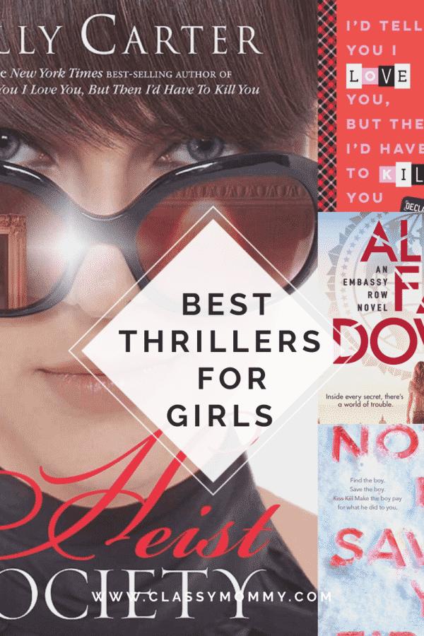 Best Thriller Books for Girls
