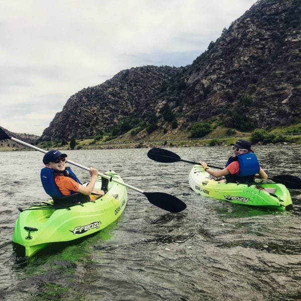 Kayaking in Yellowstone Country