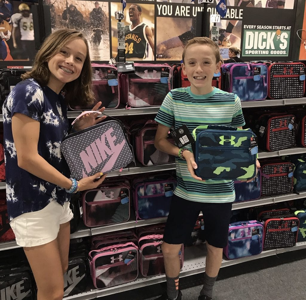 Back to School Shopping at the King of Prussia Mall