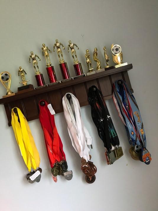 Kyle Medal Rack