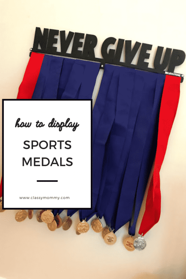 Sports Medals Display Rack