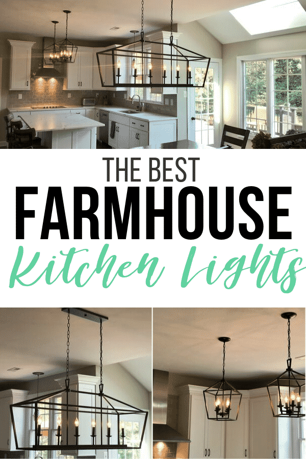 Kitchen Renovation with Stylish Farmhouse Kitchen Lighting