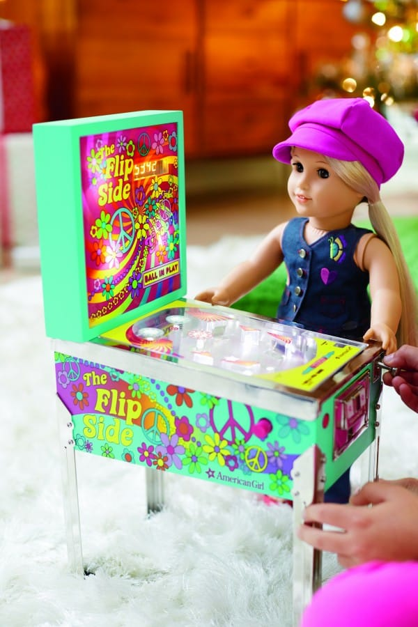 American Girl Julies Pinball Machine