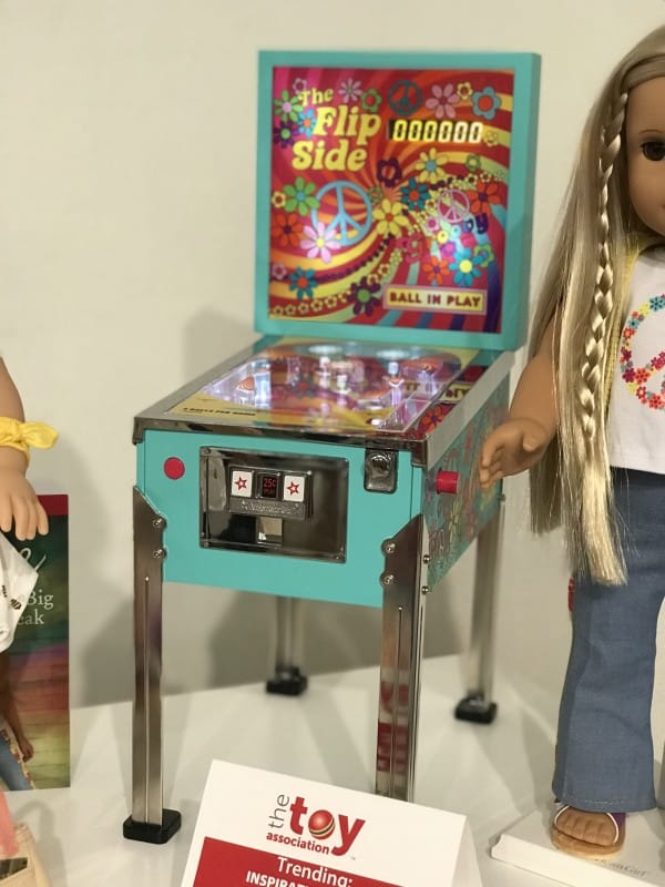 American Girl Pinball Machine