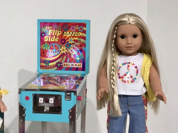American Girl Doll Pinball Machine