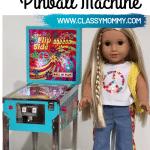 American Girl Doll Pinball Machine