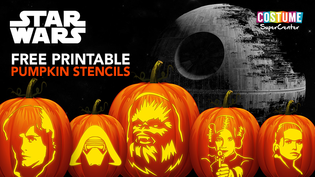 5 Free Star Wars Pumpkin Carving Templates and Stencils