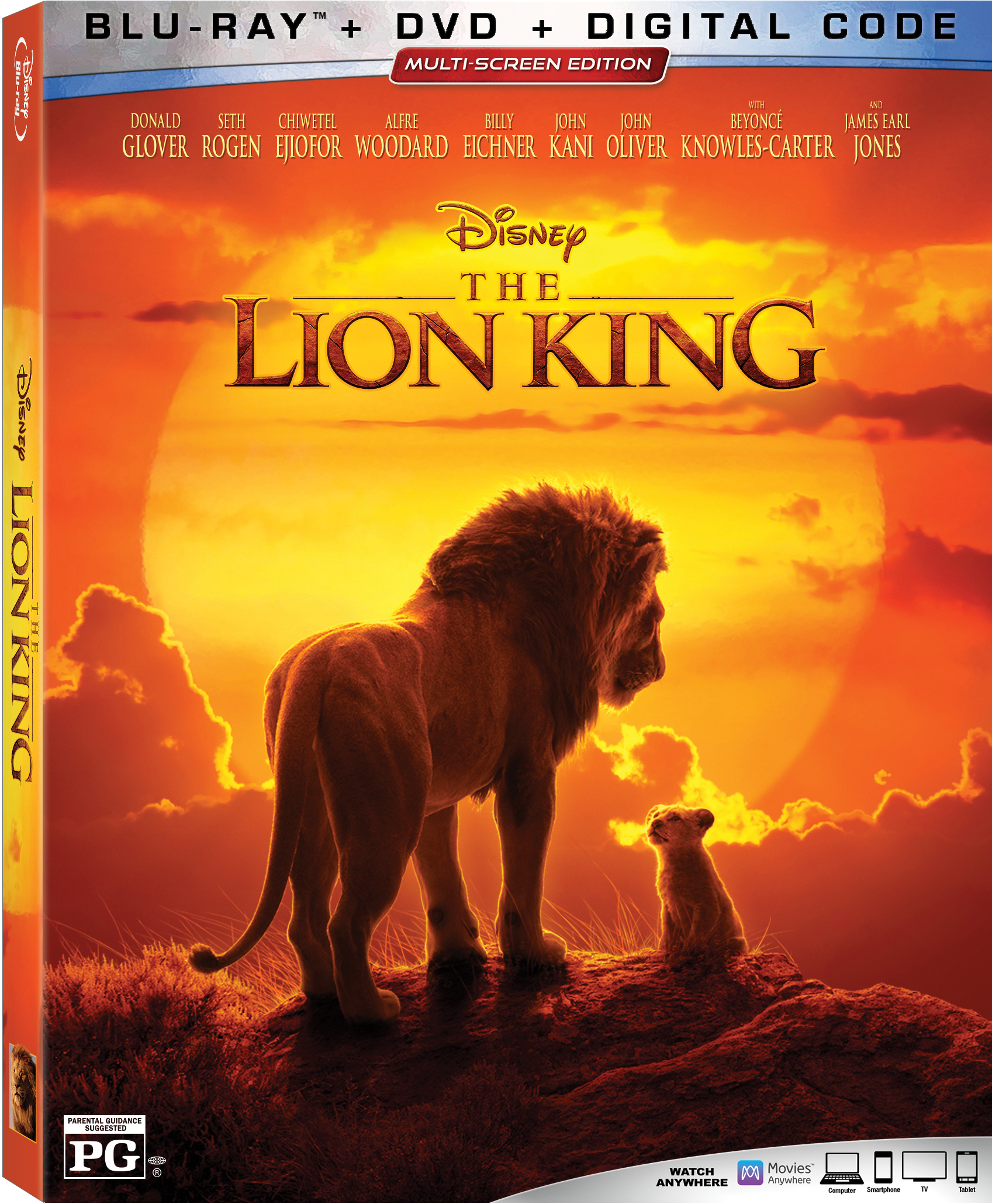 Lion King Digital Code Giveaway