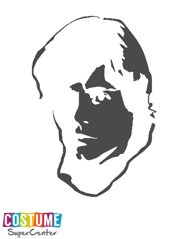 Star Wars Luke Skywalker Pumpkin Carving Stencil