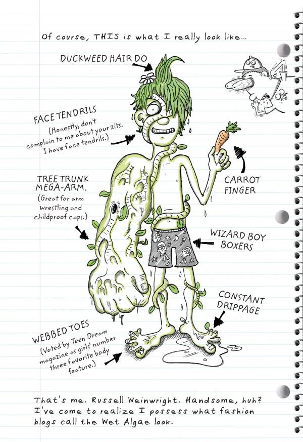New Middle Grade Book The Secret Spiral of Swamp Kid