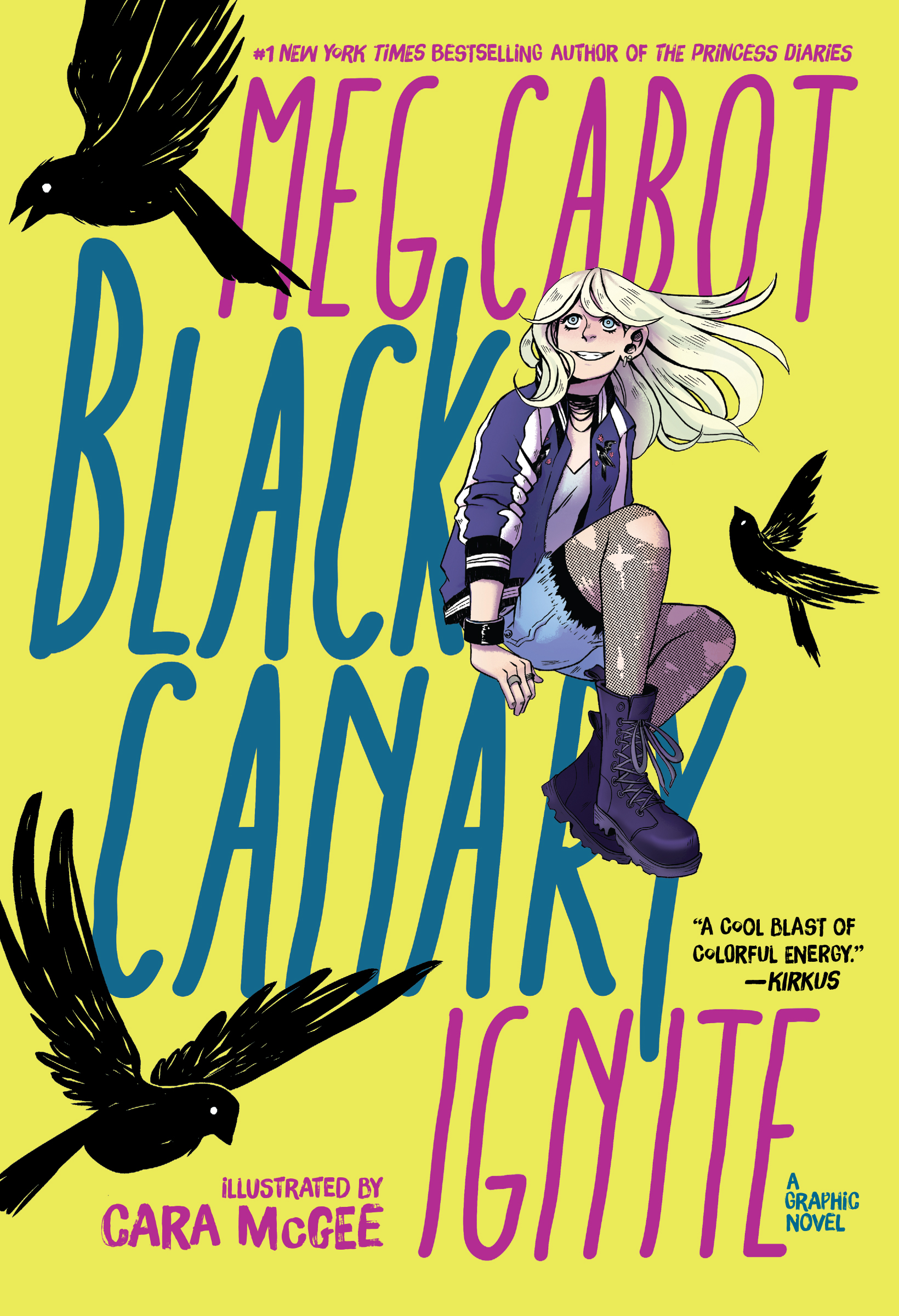 Middle Grade Graphic Novel Black Canary Ignite by Meg Cabot