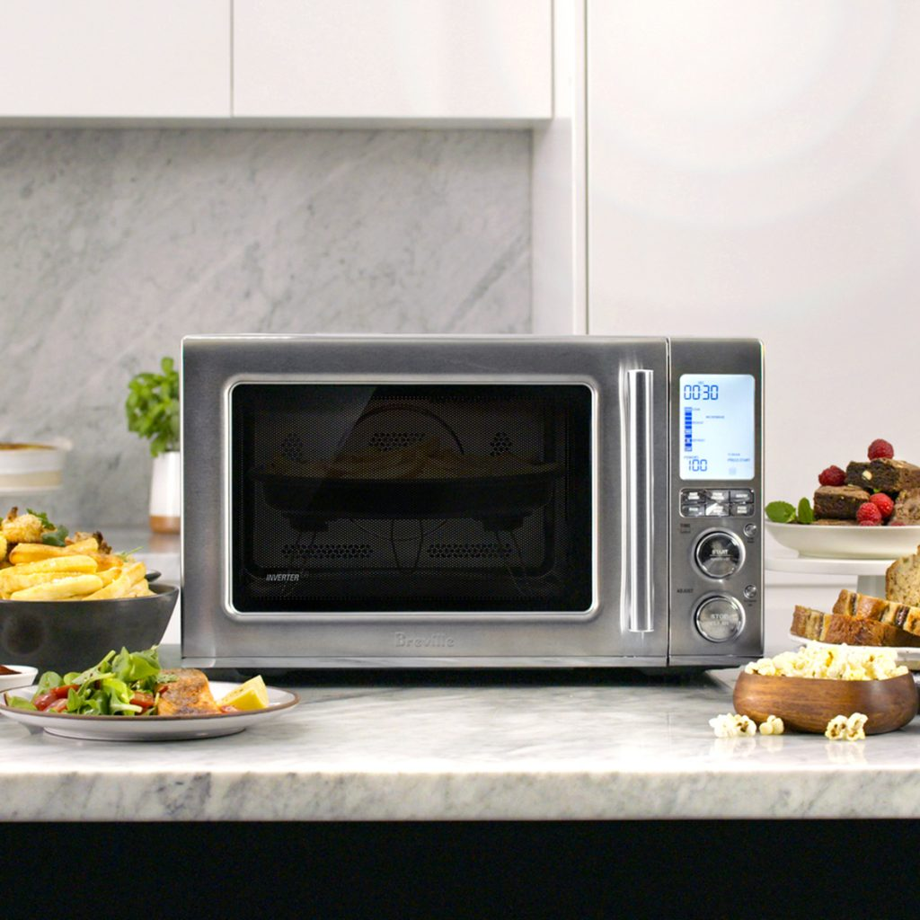 New Breville Combi Wave 3-in-1 Microwave Air Fries