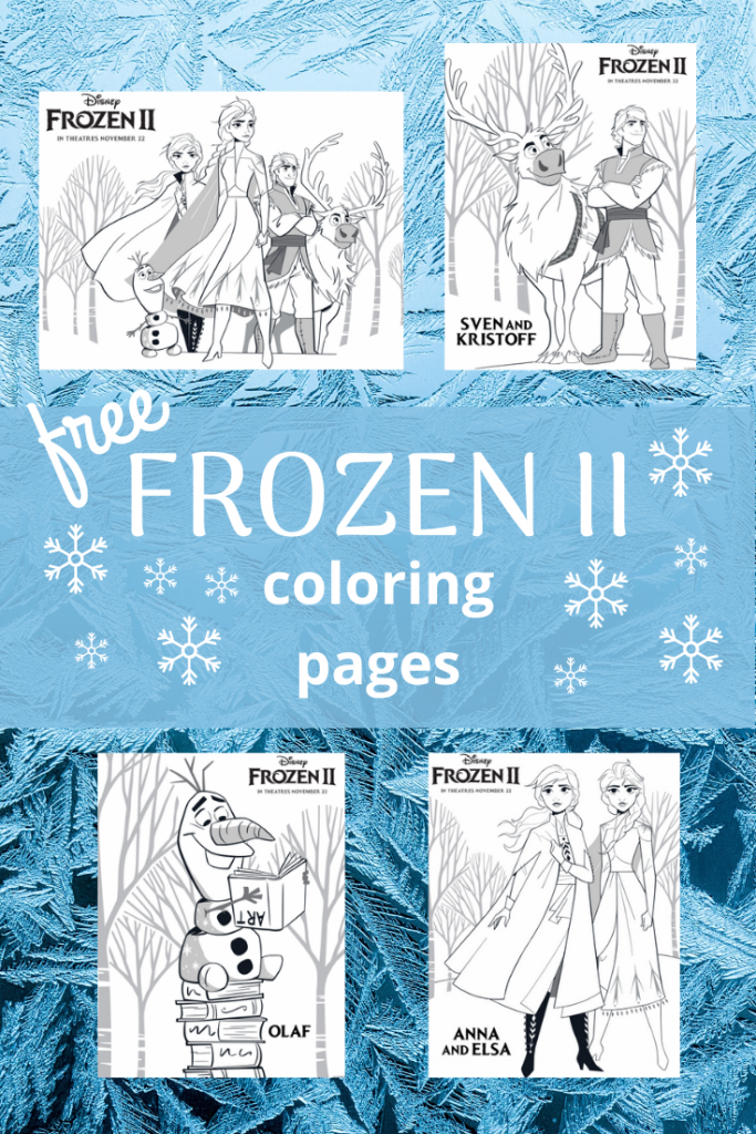 New Free Printable Frozen 2 Coloring Pages Classy Mommy