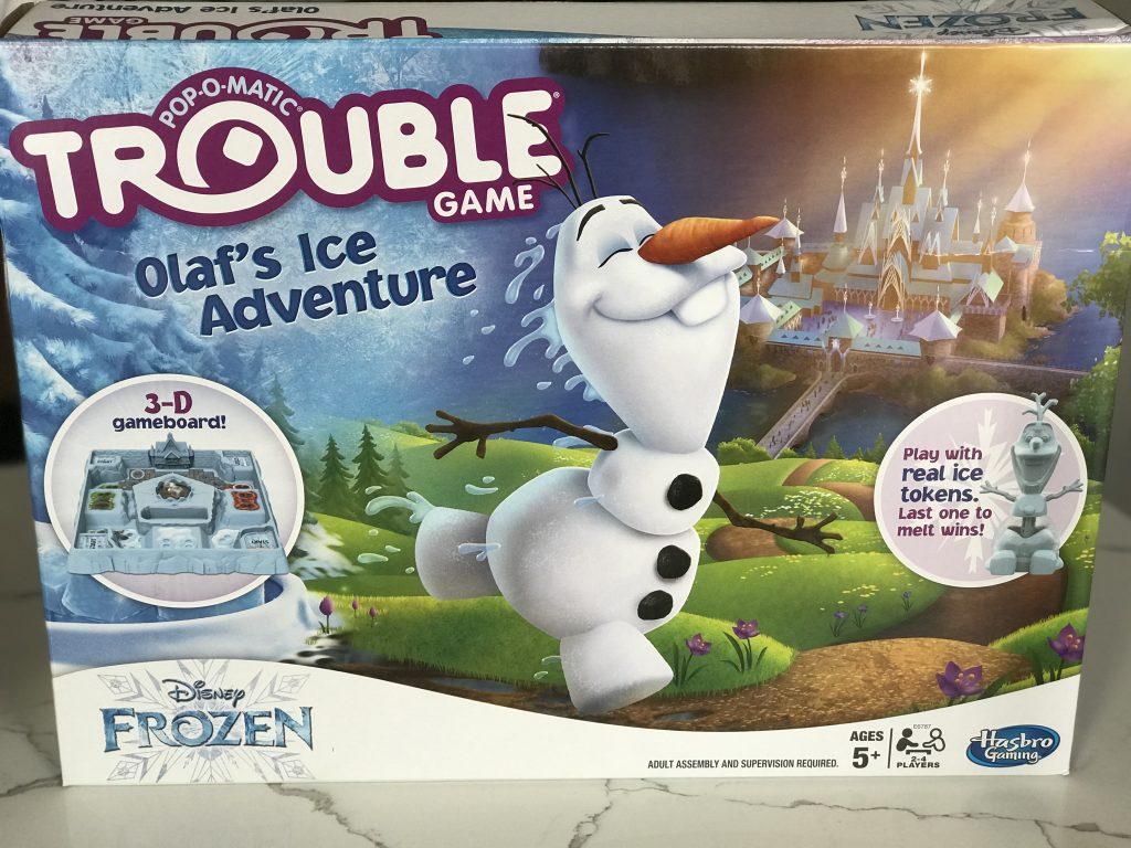 Frozen 2 Trouble Board Game
