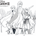 New Free Printable Frozen 2 Coloring Pages