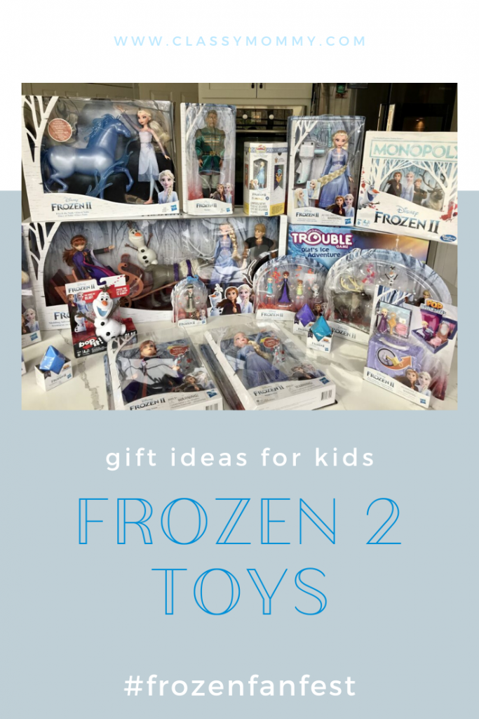 Unboxing Video of Frozen 2 Hasbro Toys