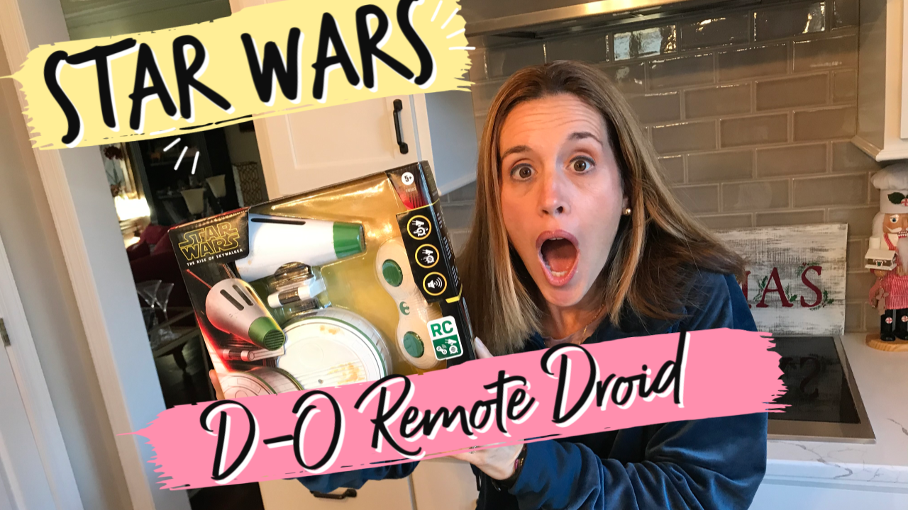 Star Wars D-O Droid Remote Control Toy Review