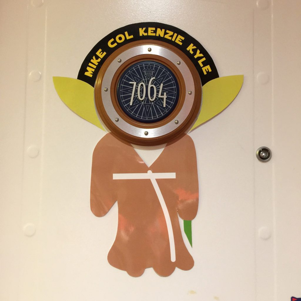 Baby Yoda Free Disney Cruise Door Printables