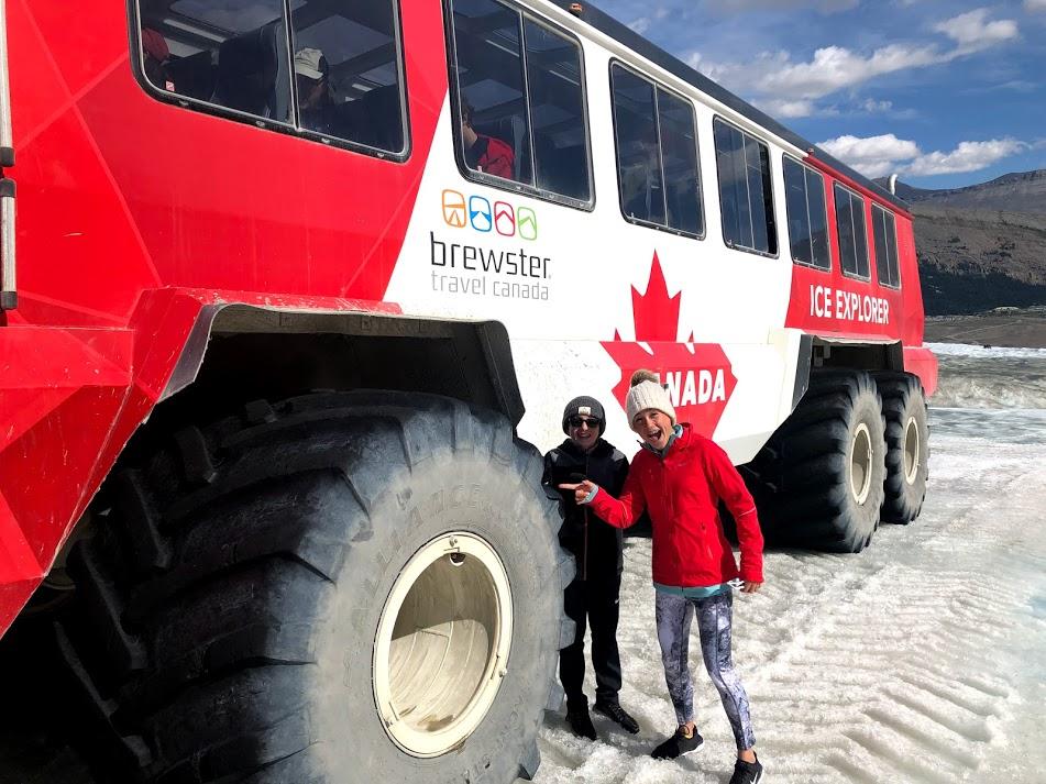 Columbia Icefield Athabasca Glacier Ice Explorer
