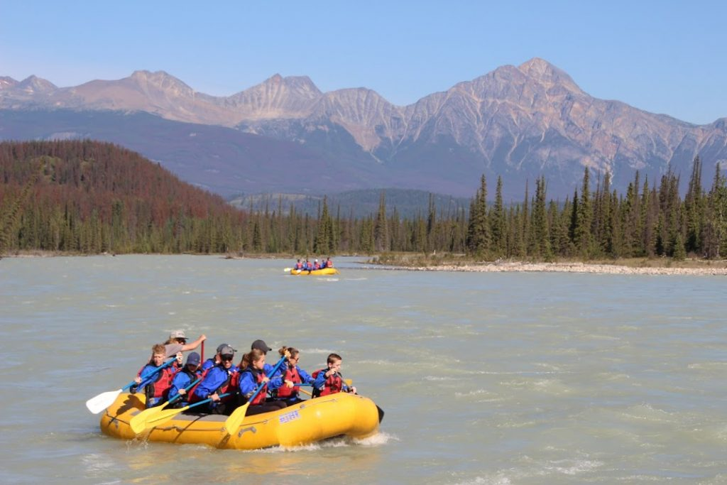 White Water Rafting Athabasca River